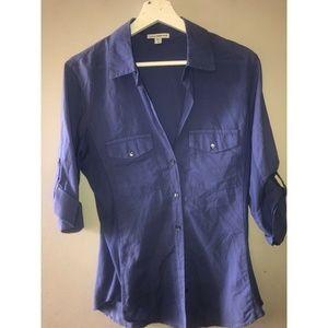 Standard JamesPerse 3 Large Top Button Front Shirt